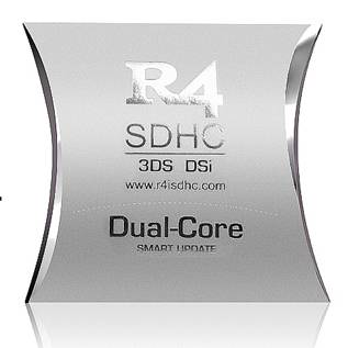 R4i Dual-Core card for NDS and SNES ROMS